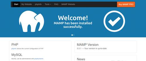 Come installare wordpress in locale - Start Page Mamp
